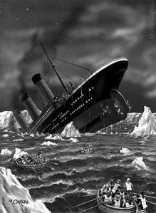 Titanic sinking - mcaron