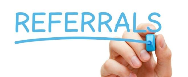 income property referrals